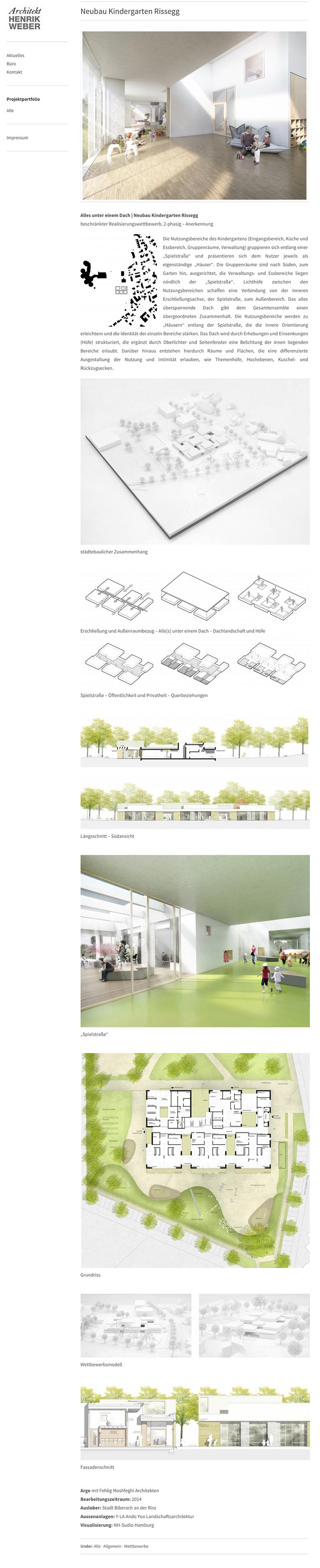 Neubau Kindergarten Rissegg